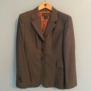 Ariat Brown Custom Hunt Coat